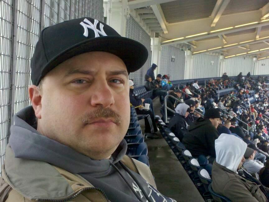 Yankee Stadium Section 432a Row 14 Seat 8