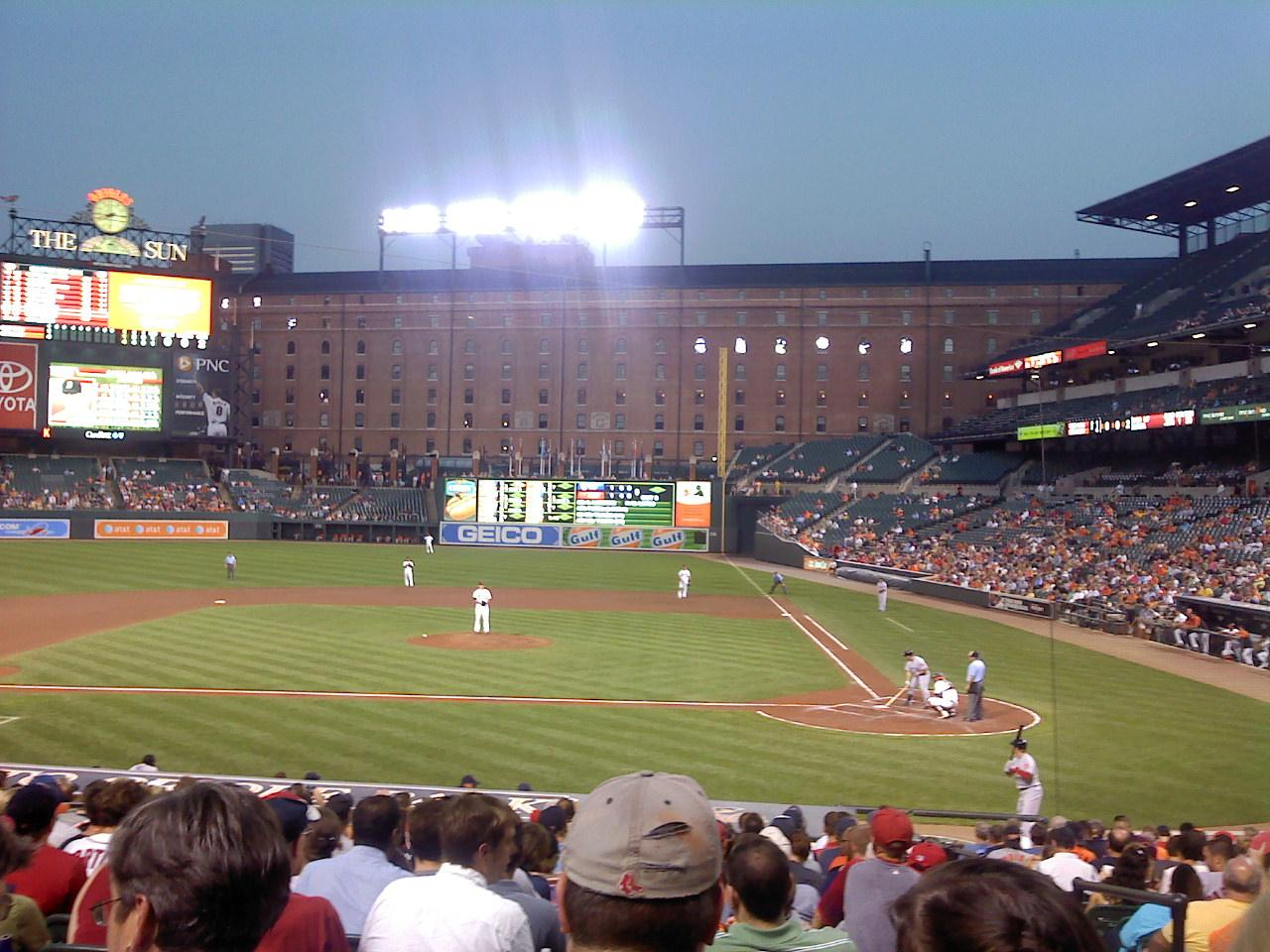 Oriole Park at Camden Yards Section 48 Row 19 Seat 1,2,3,4