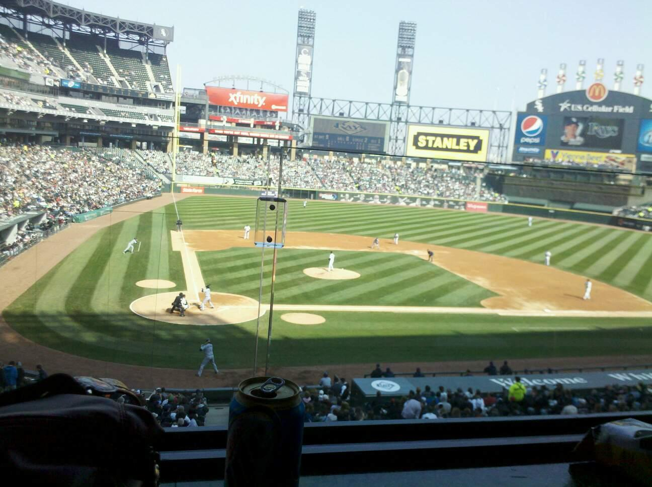 Guaranteed Rate Field Section 227 Row 1 Seat 1