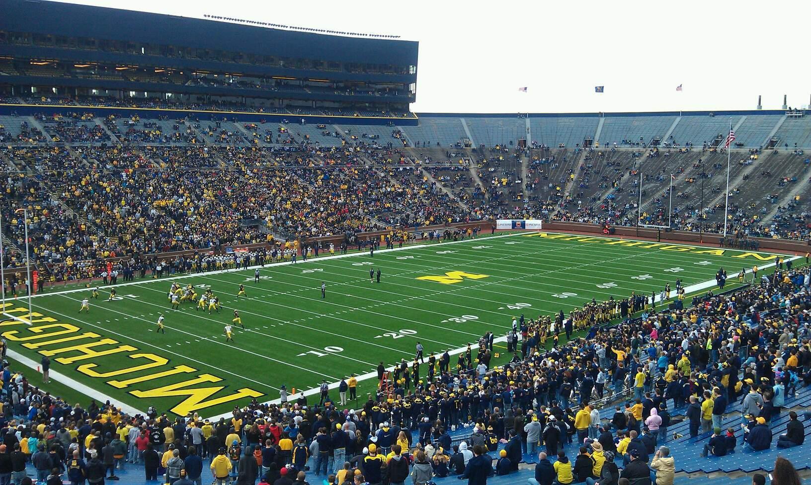 Michigan Stadium Section 29