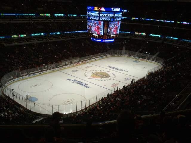 United Center Section 305 Row 8 Seat 10
