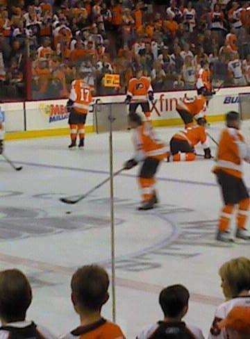 Wells Fargo Center Section 112 Row 8 Seat 7