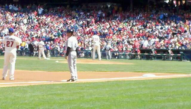 Citizens Bank Park Section 135 Row 1 Seat 1