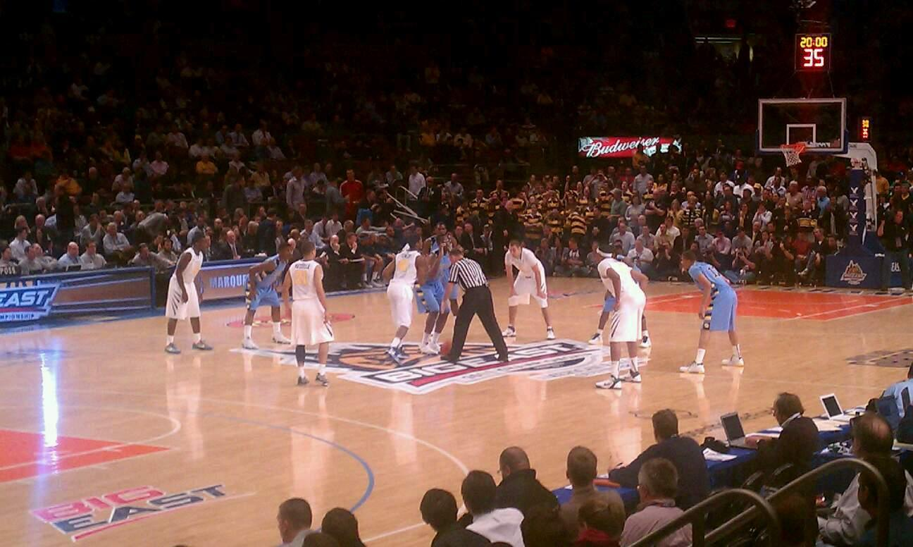 Madison Square Garden Section 63 Row D Seat 5