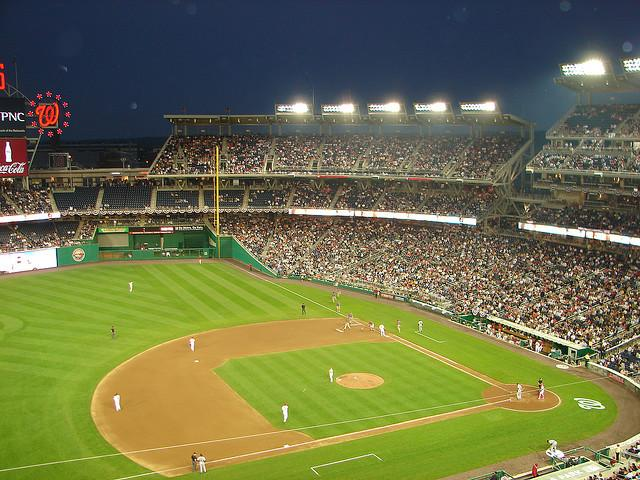 Nationals Park Section 306 Row G