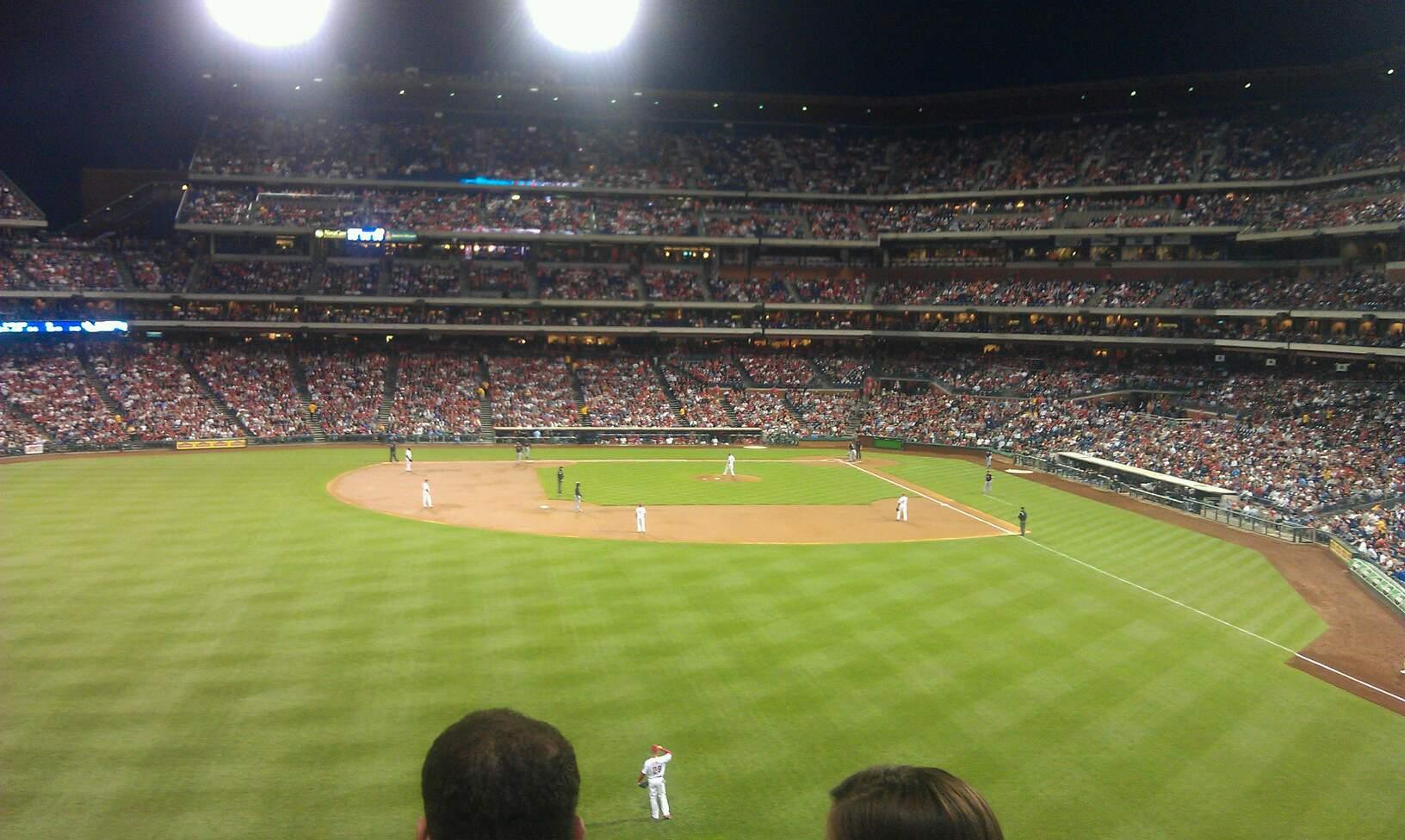 Citizens Bank Park Section 243 Row 3 Seat 13