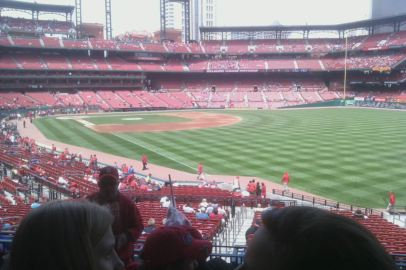 Busch Stadium Section 132 Row 8 Seat 16