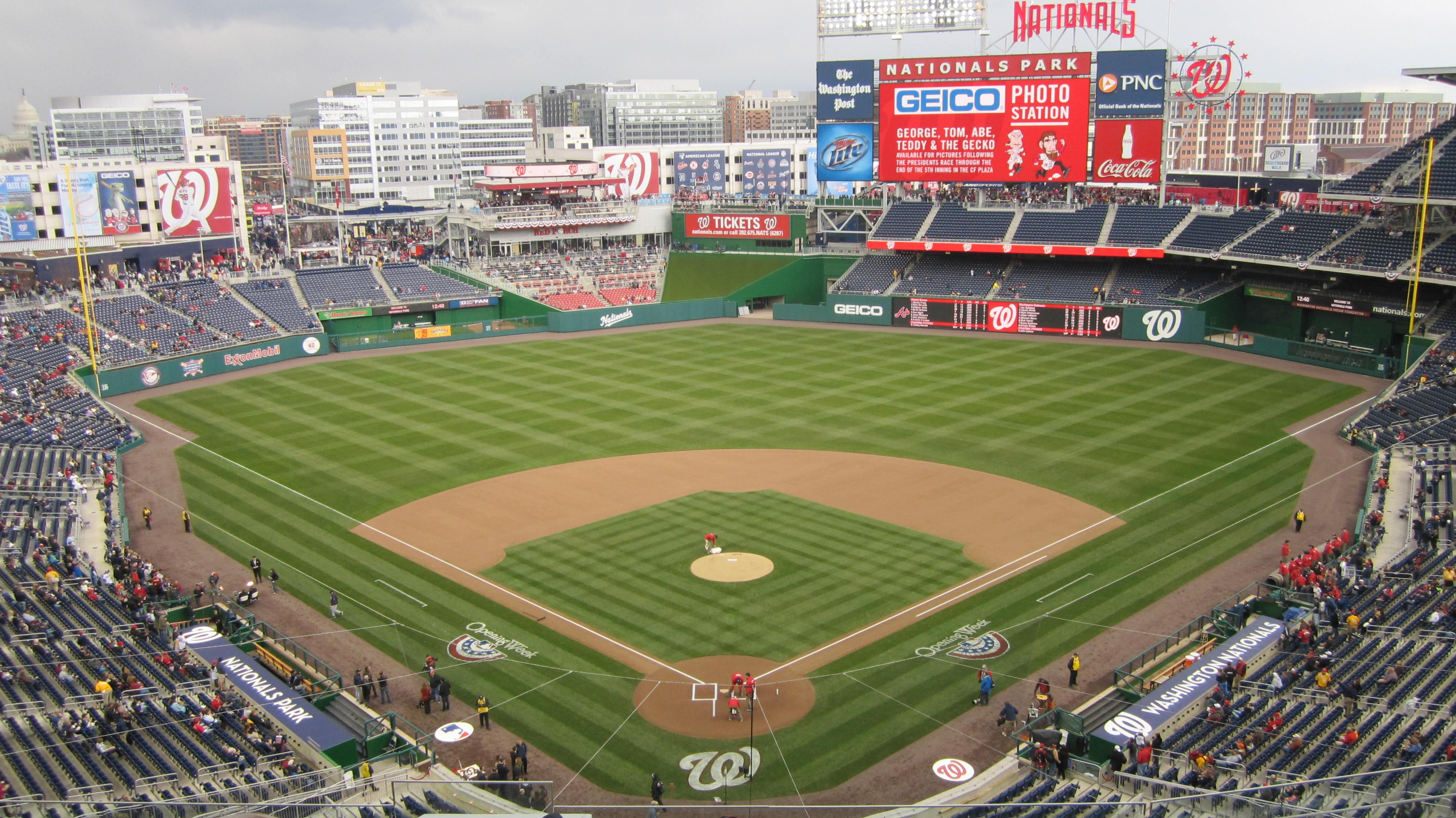 Nationals Park Section 314 Row J Seat 18