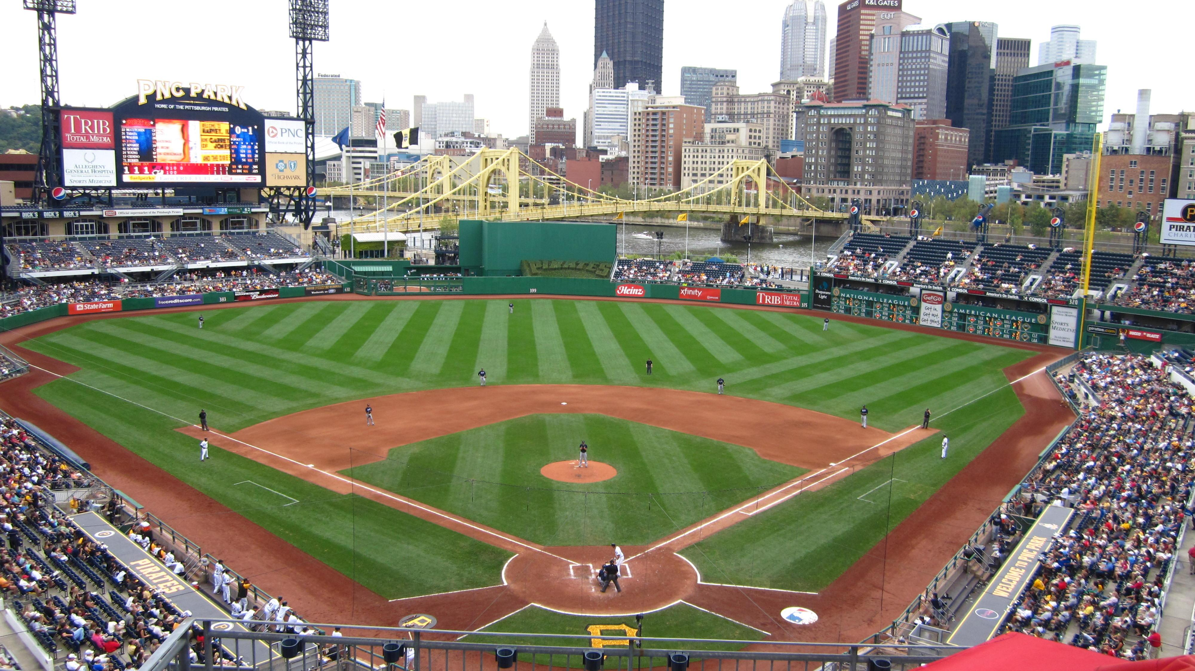 PNC Park Section 316 Row A Seat 25