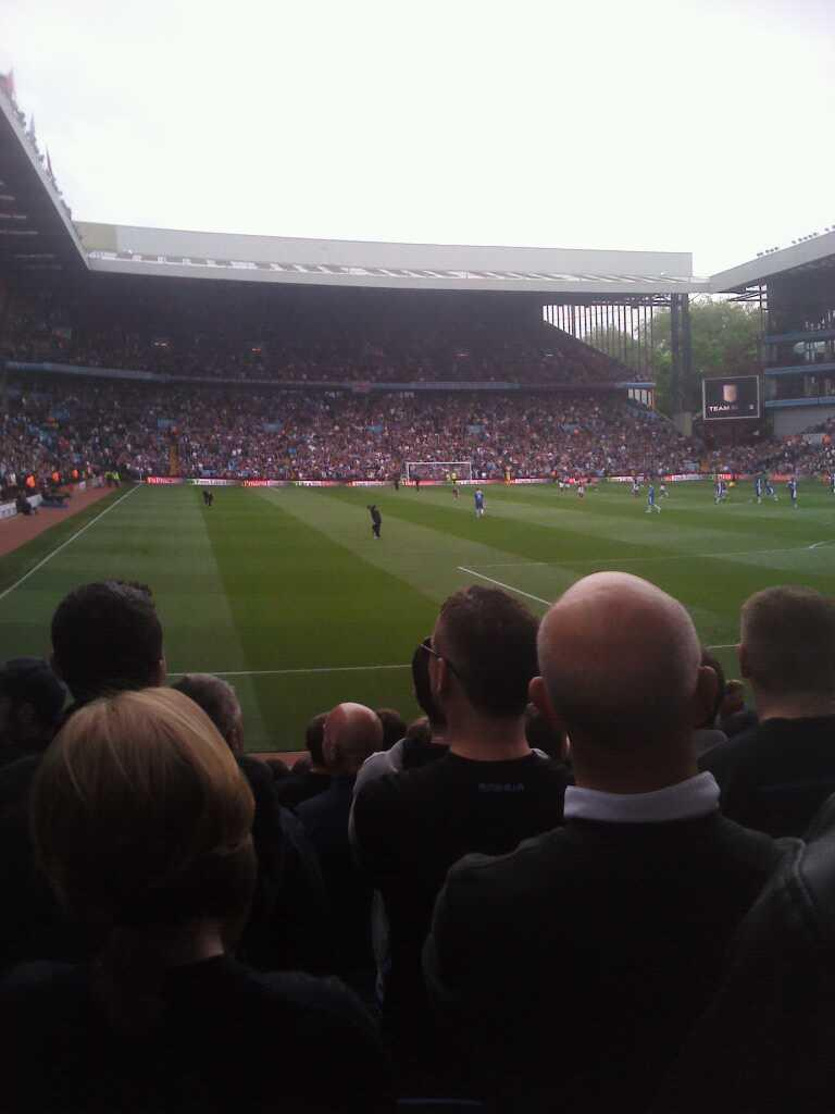 Villa Park Section north stand lower
