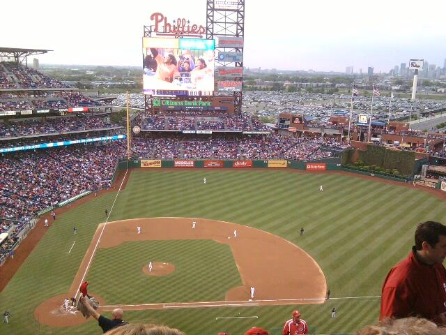 Citizens Bank Park Section 416 Row 13 Seat 7