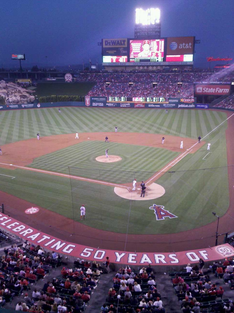 Angel Stadium Section suite 45 Row A Seat 1
