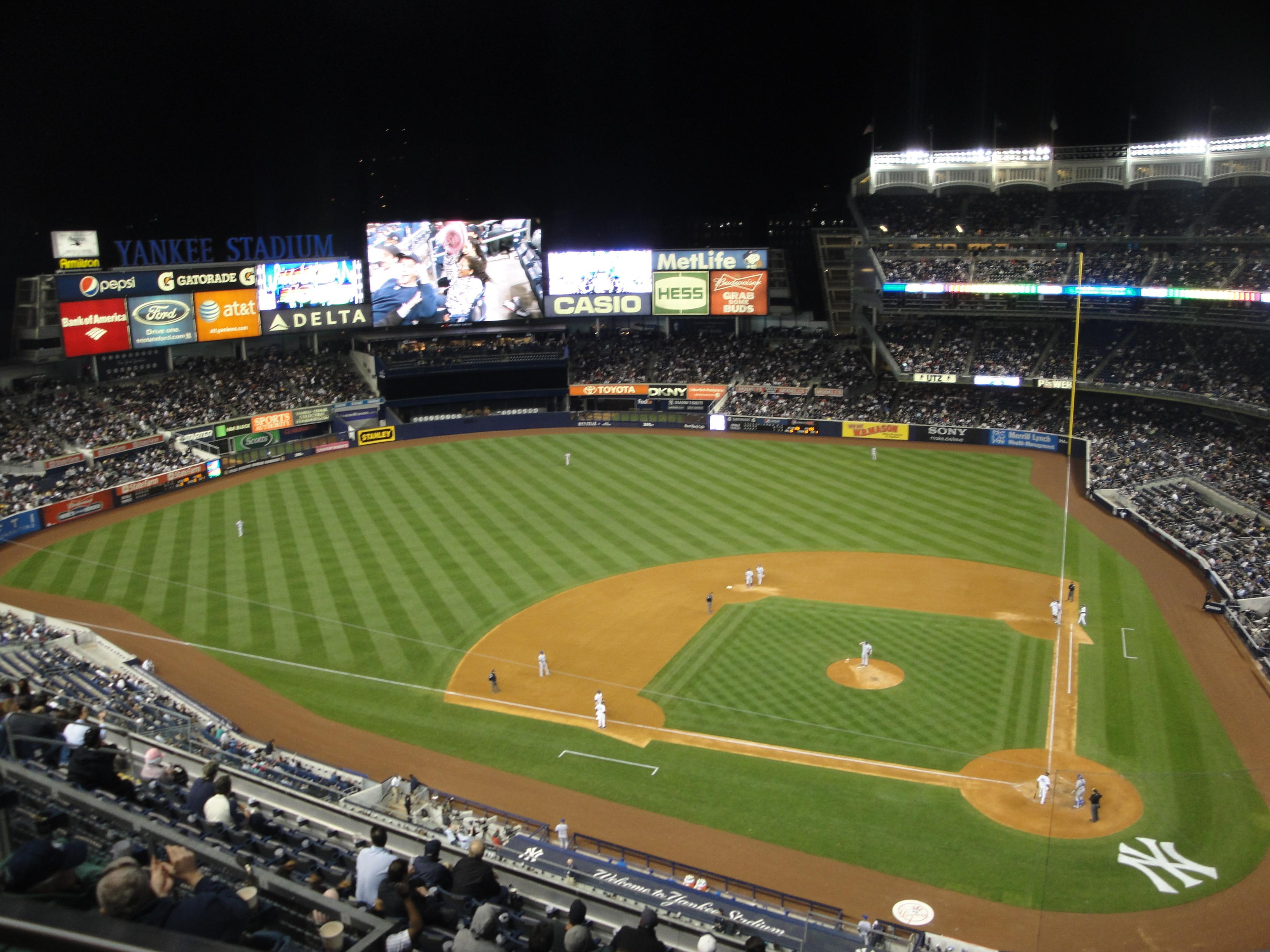 Yankee Stadium Section 422 Row 1 Seat 21