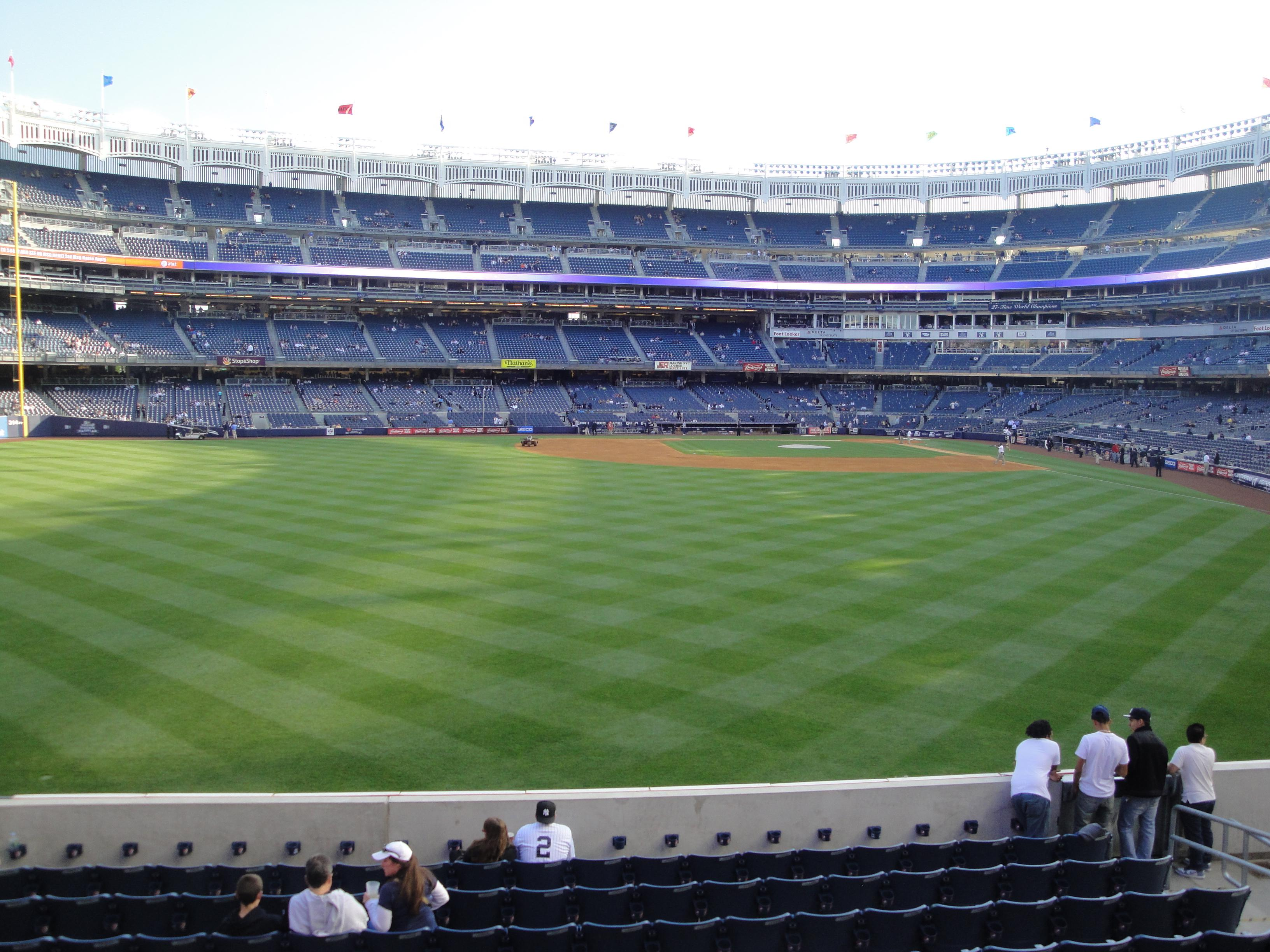 Yankee Stadium Section 236 Row 1 Seat 10