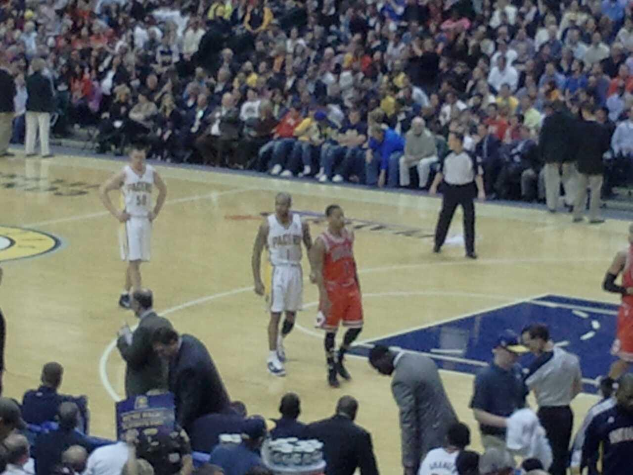 Bankers Life Fieldhouse Section 3 Row 21 Seat 5