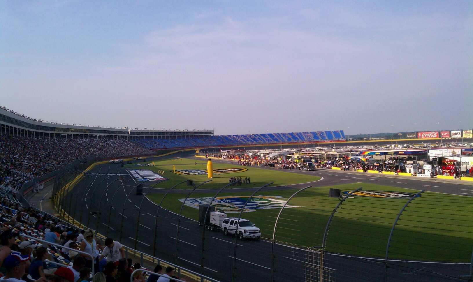 Charlotte Motor Speedway Section Ford F Row 16 Seat 16