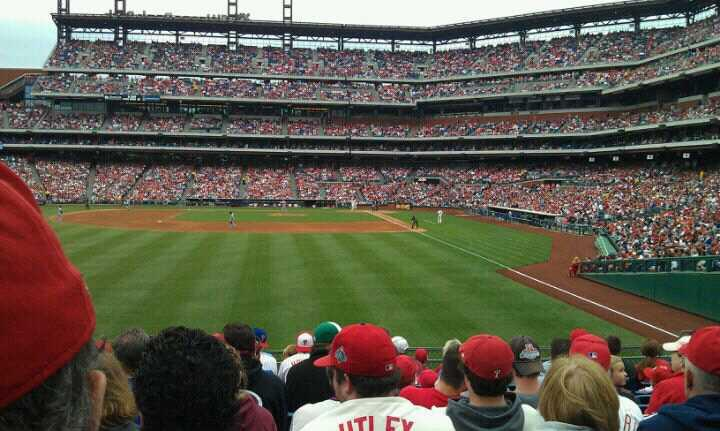 Citizens Bank Park Section 142 Row 12 Seat 12