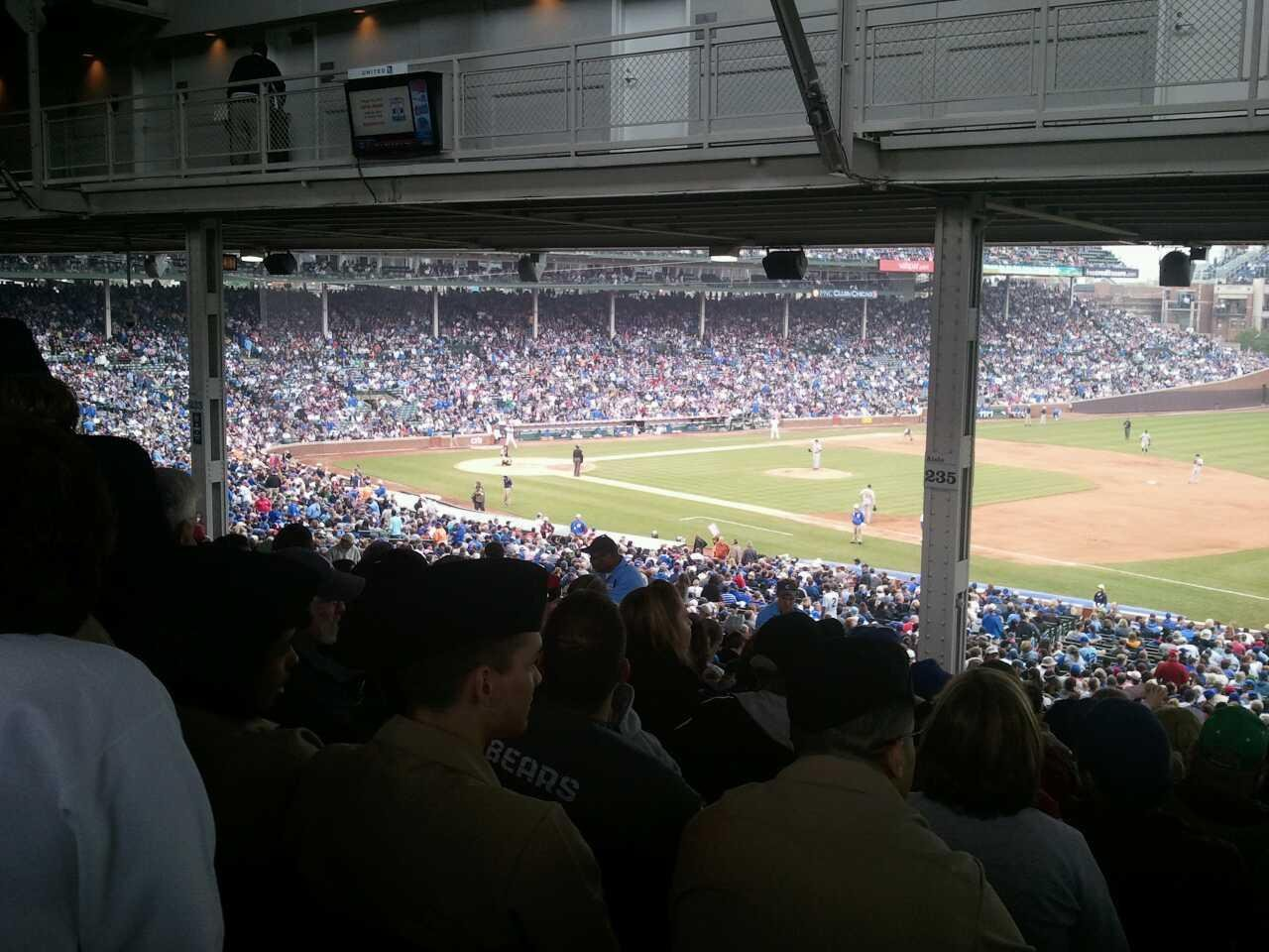 Wrigley Field Section 228 Row 21 Seat 11
