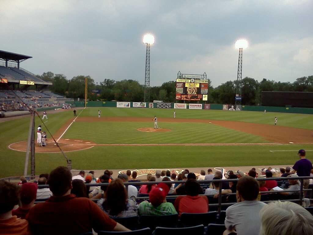 NBT Bank Stadium Section 205 Row 6 Seat 18