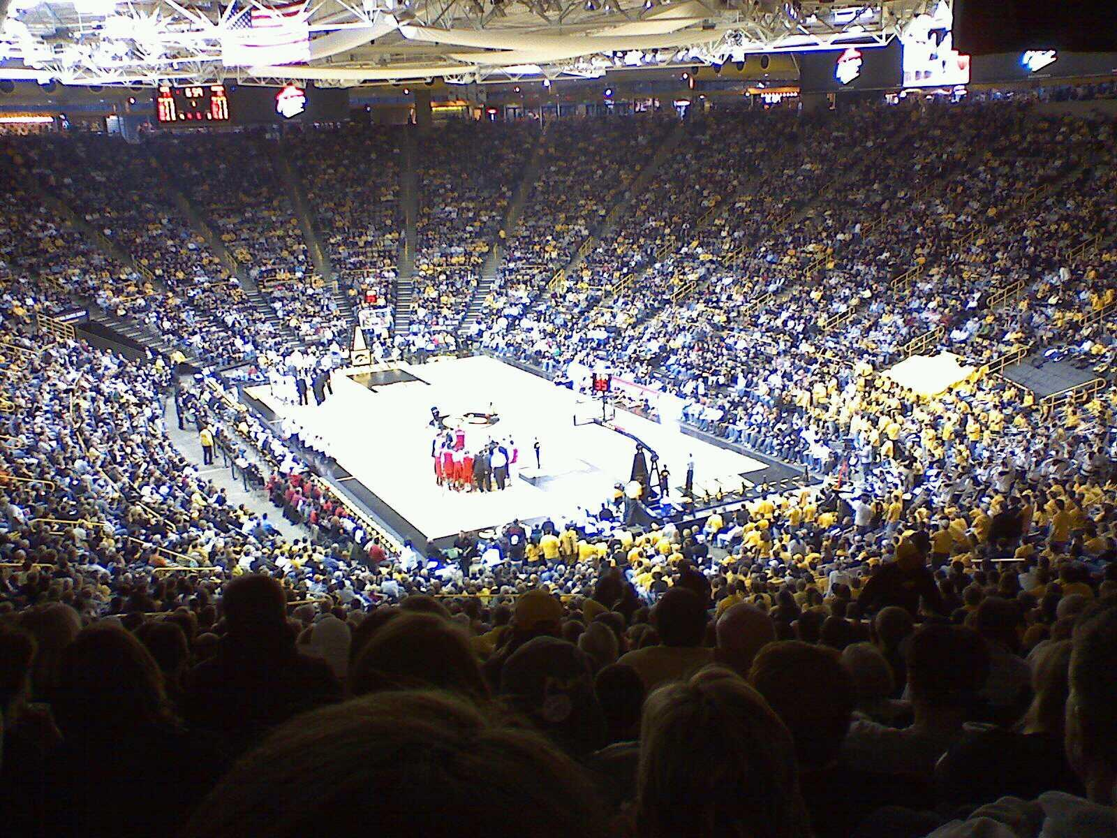 Carver-Hawkeye Arena Section D