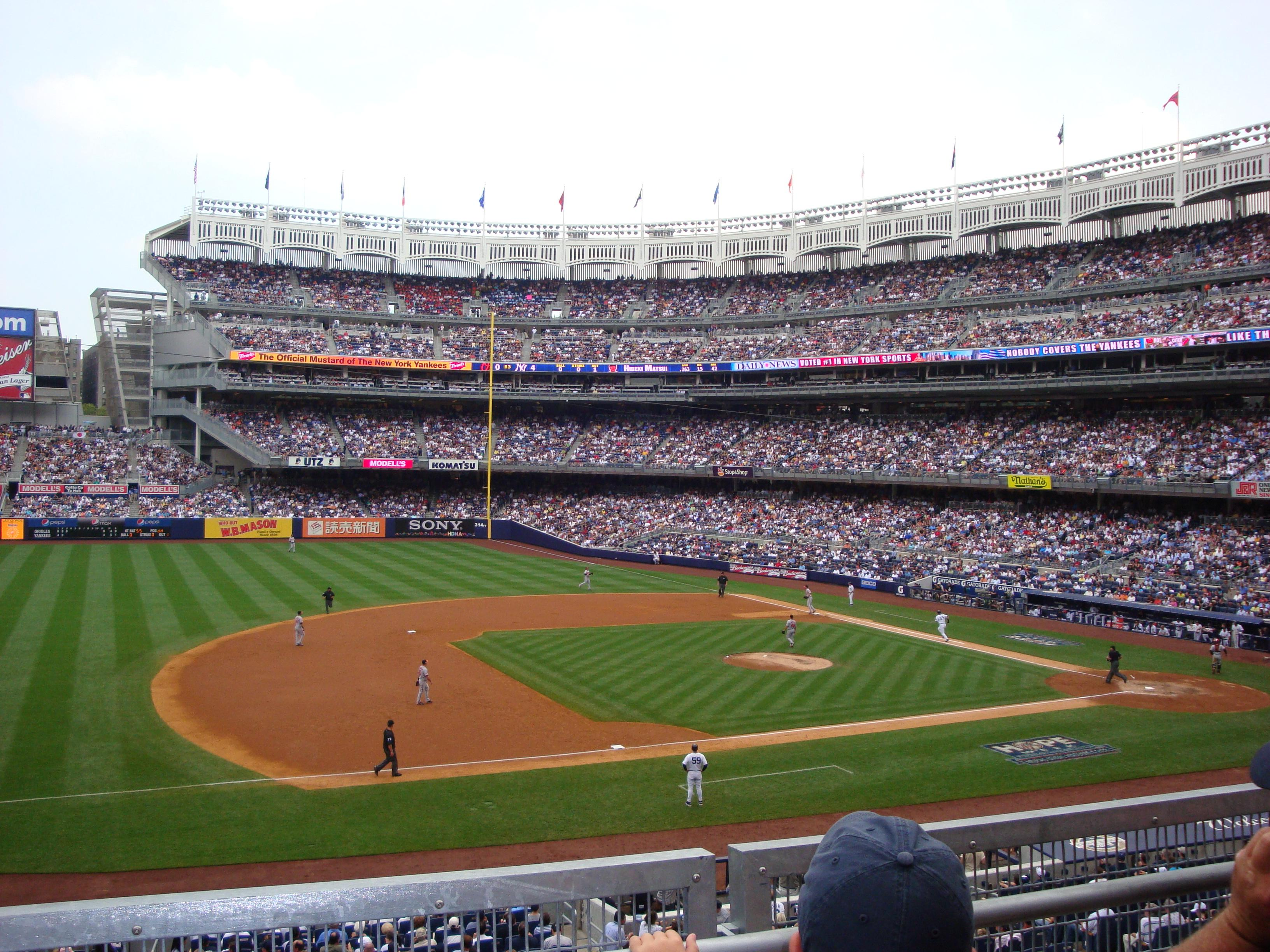 Yankee Stadium Section 226 - New York Yankees ...