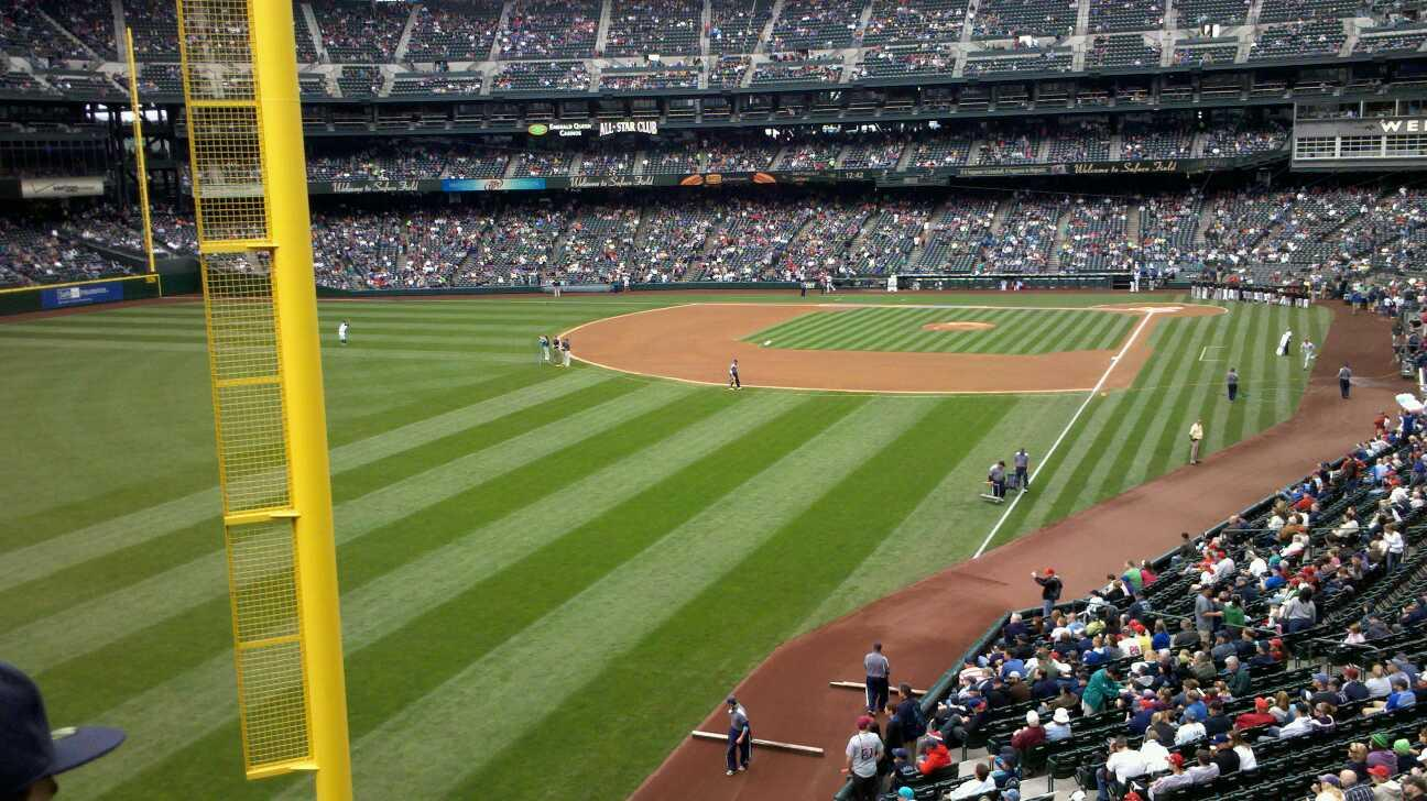 T-Mobile Park Section 180 Row 2 Seat 8