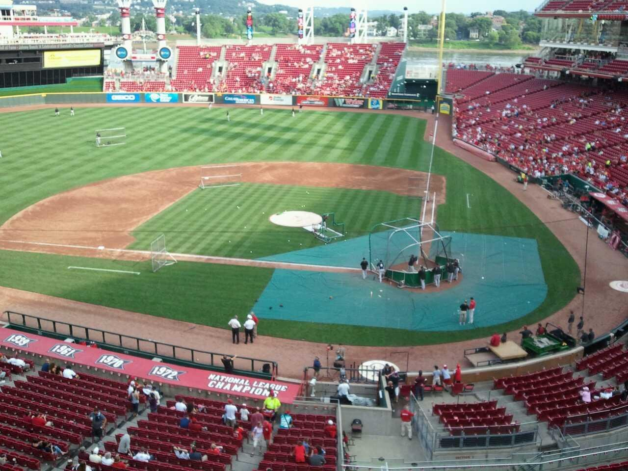 Great American Ball Park Section Frontgate suite