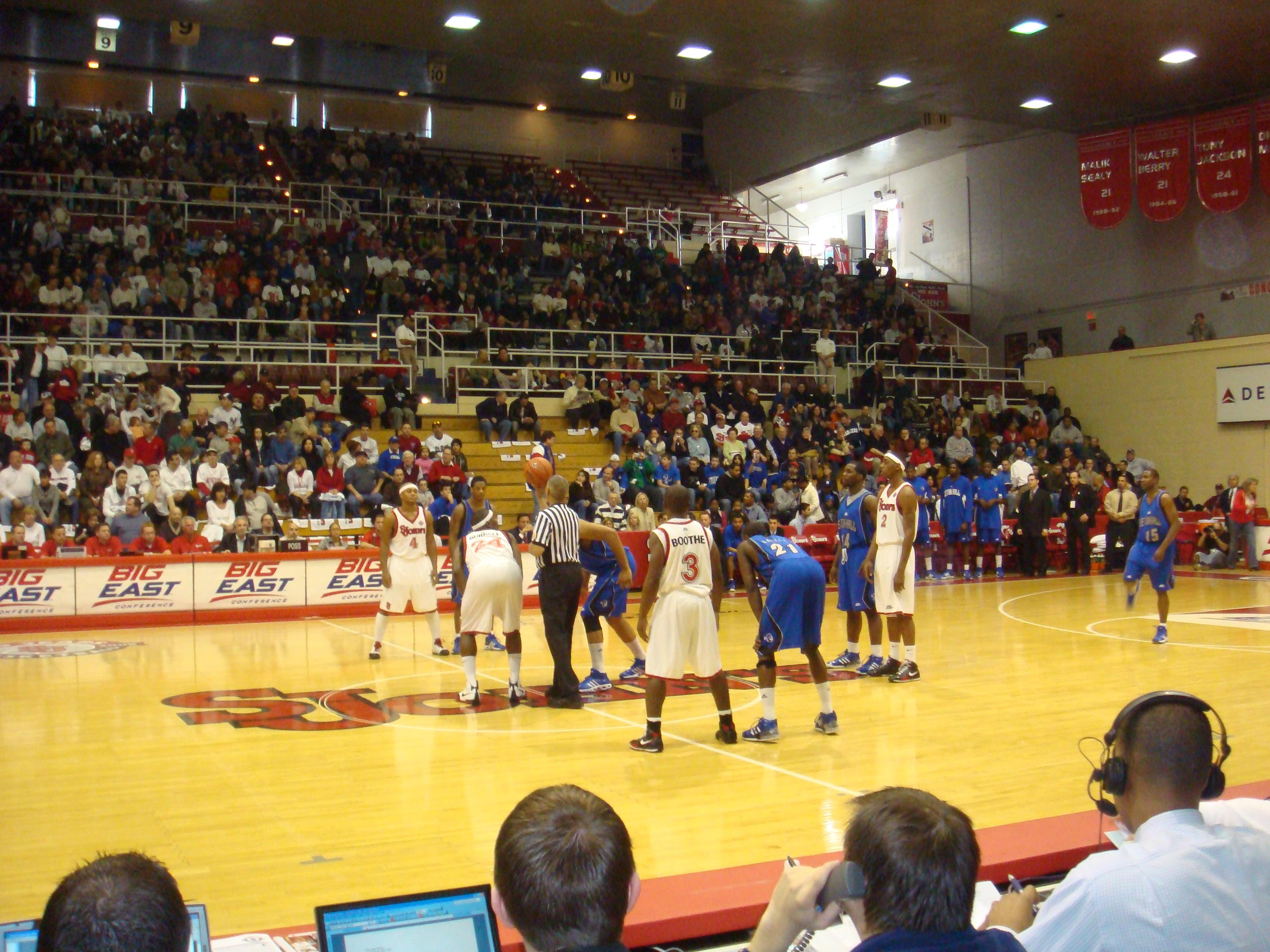 Carnesecca Arena Section 3 Row CC Seat 20