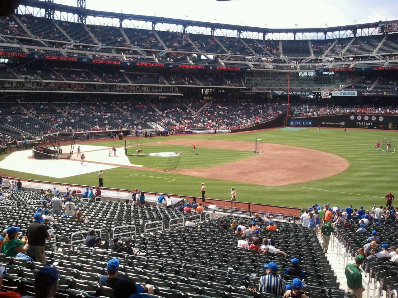Citi Field section 111 row 32 seat 15 - New York Mets vs ...