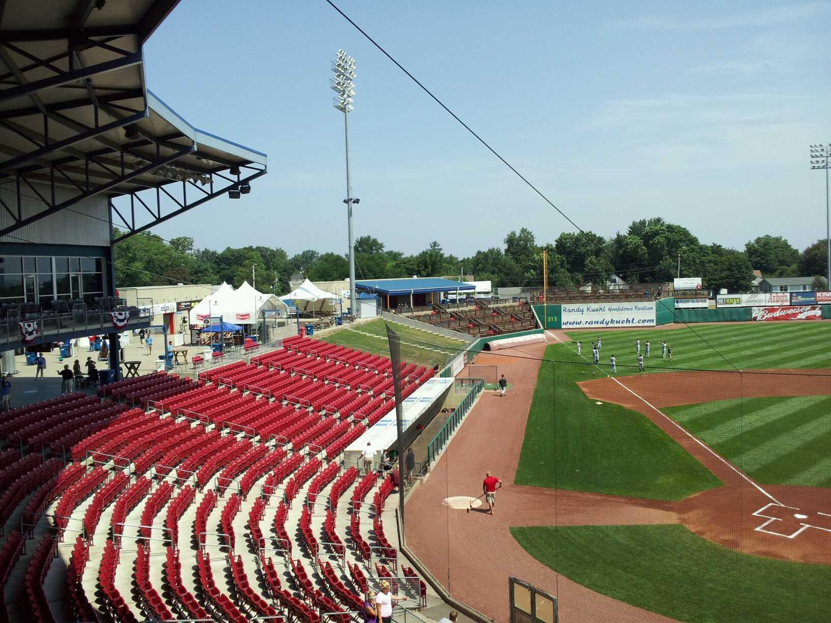 Veterans Memorial Stadium (Cedar Rapids) Section 206