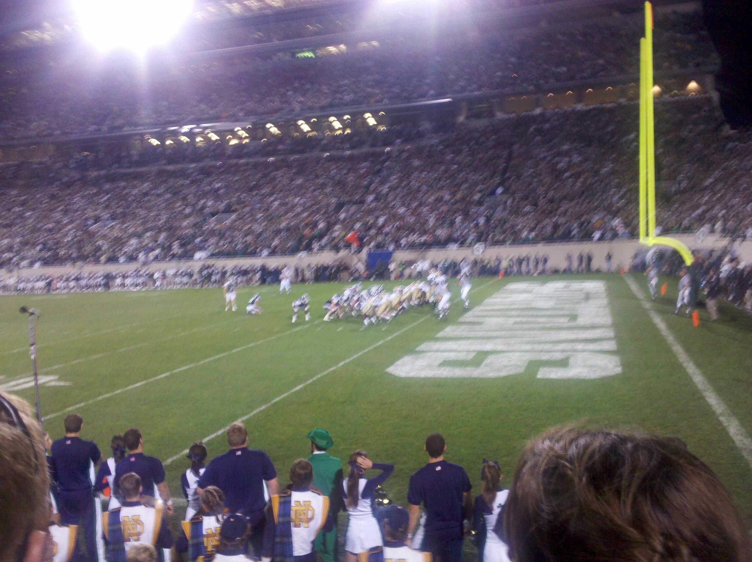 Spartan Stadium Section 5 Row 2 Seat 5