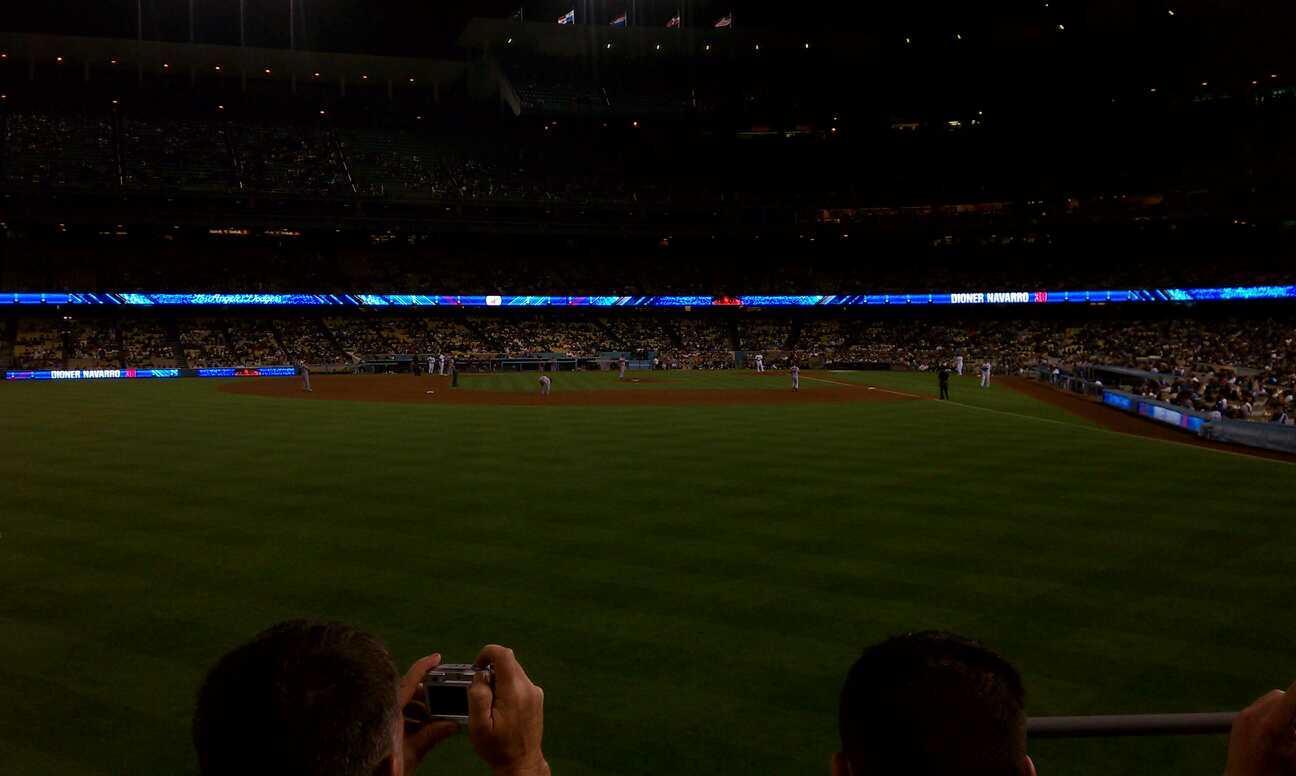 Dodger Stadium Section 303PL Row C Seat 2