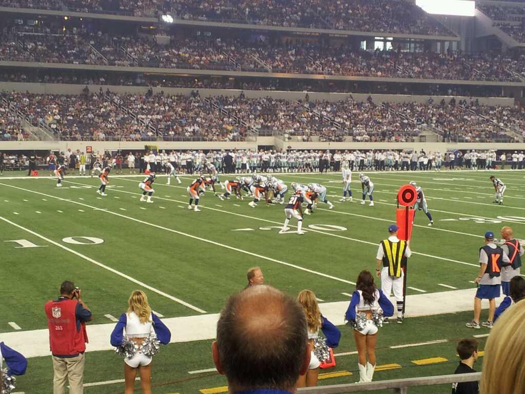AT&T Stadium Section 142 Row 3 Seat 7