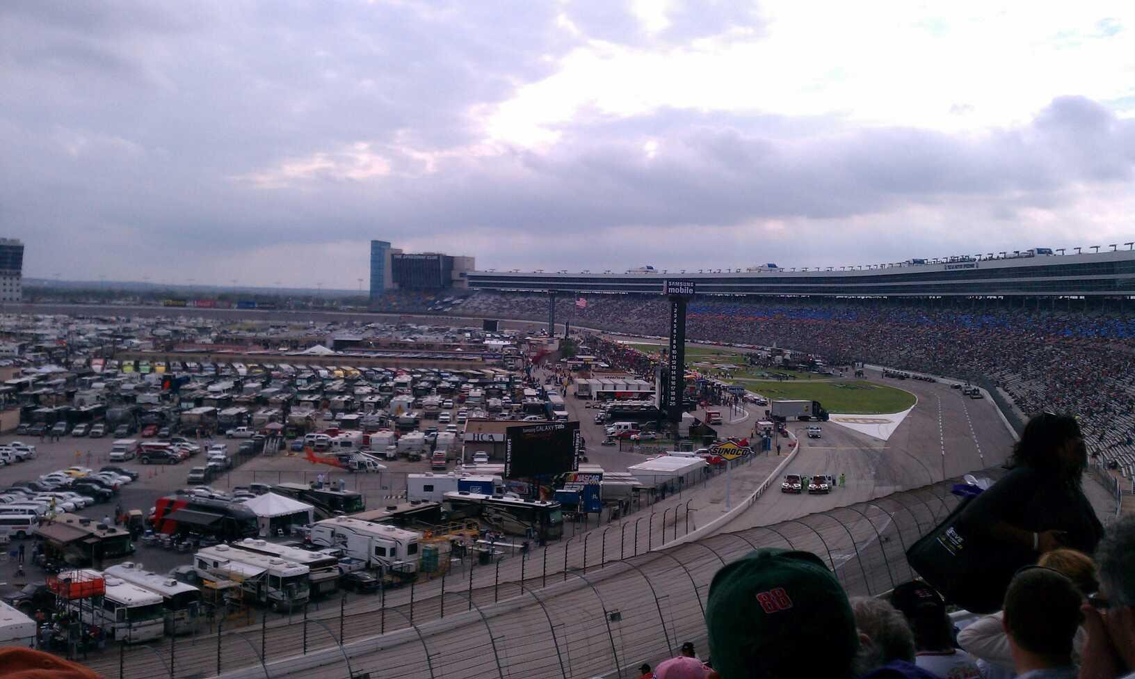 Texas Motor Speedway Section 447 Row 50 Seat 12 Shared
