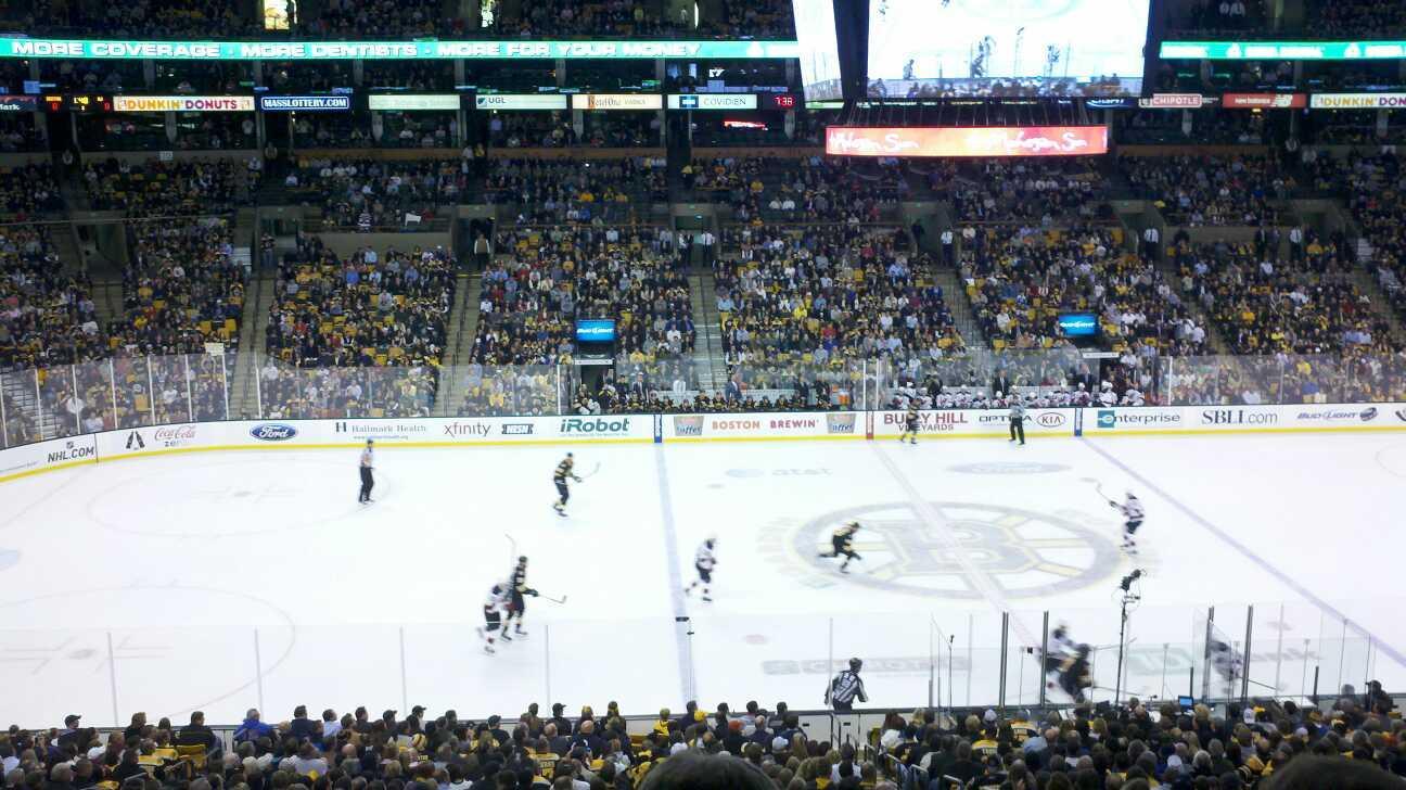 Td Garden Section S13 Row 5 Seat 1 Boston Bruins Vs New