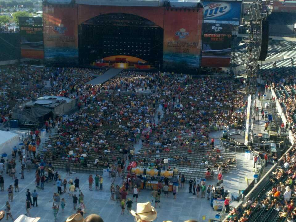 Lincoln Financial Field Section C13 Concert Seating