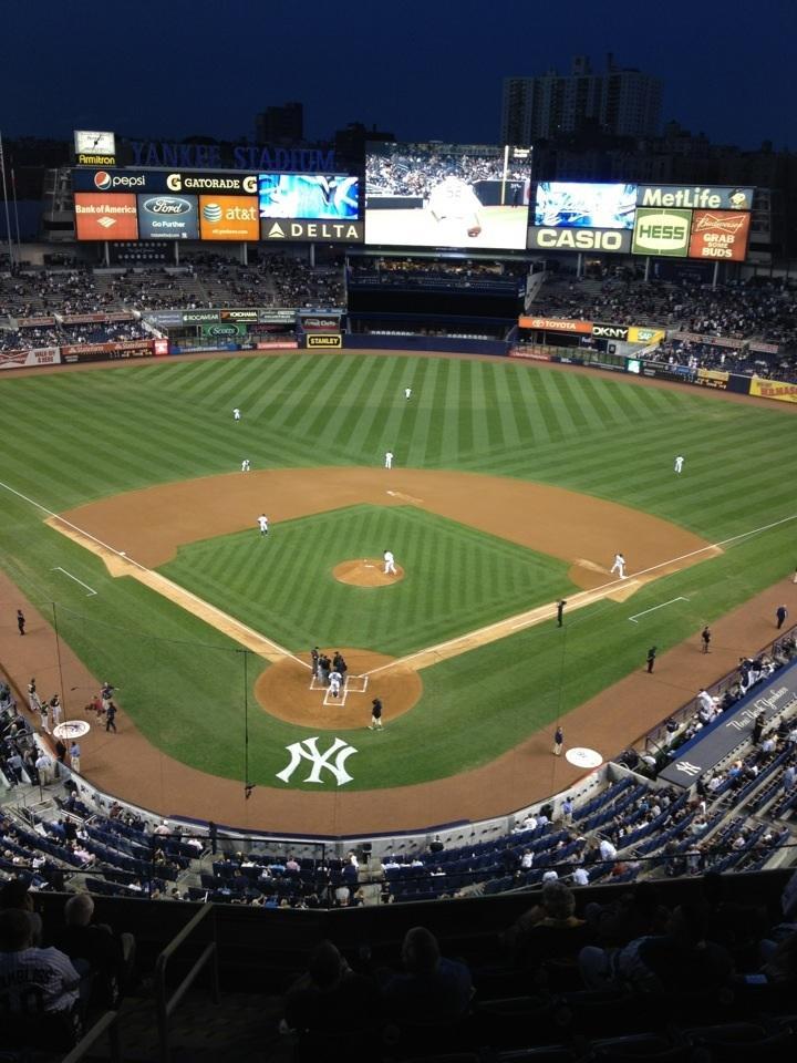 Yankee Stadium Section 320a New York Yankees