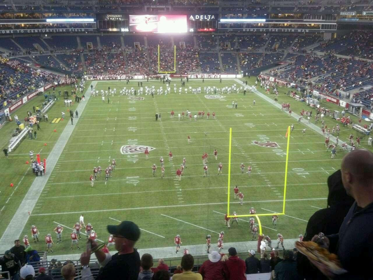 Seattle Seahawks Seat View for CenturyLink Field Section 149, Row cc, Seat 24