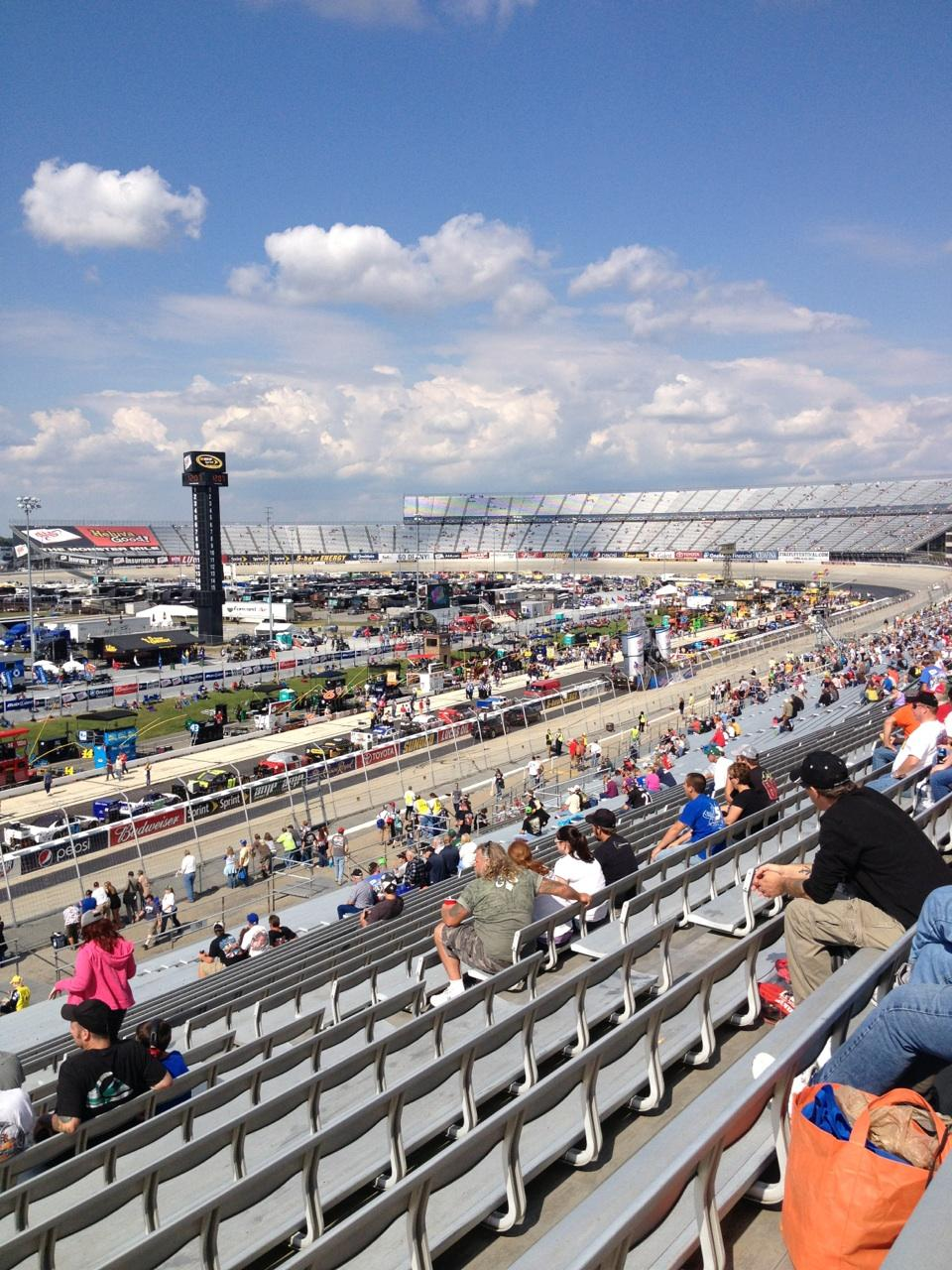 Dover International Speedway Section 110 Row 42 Seat 13