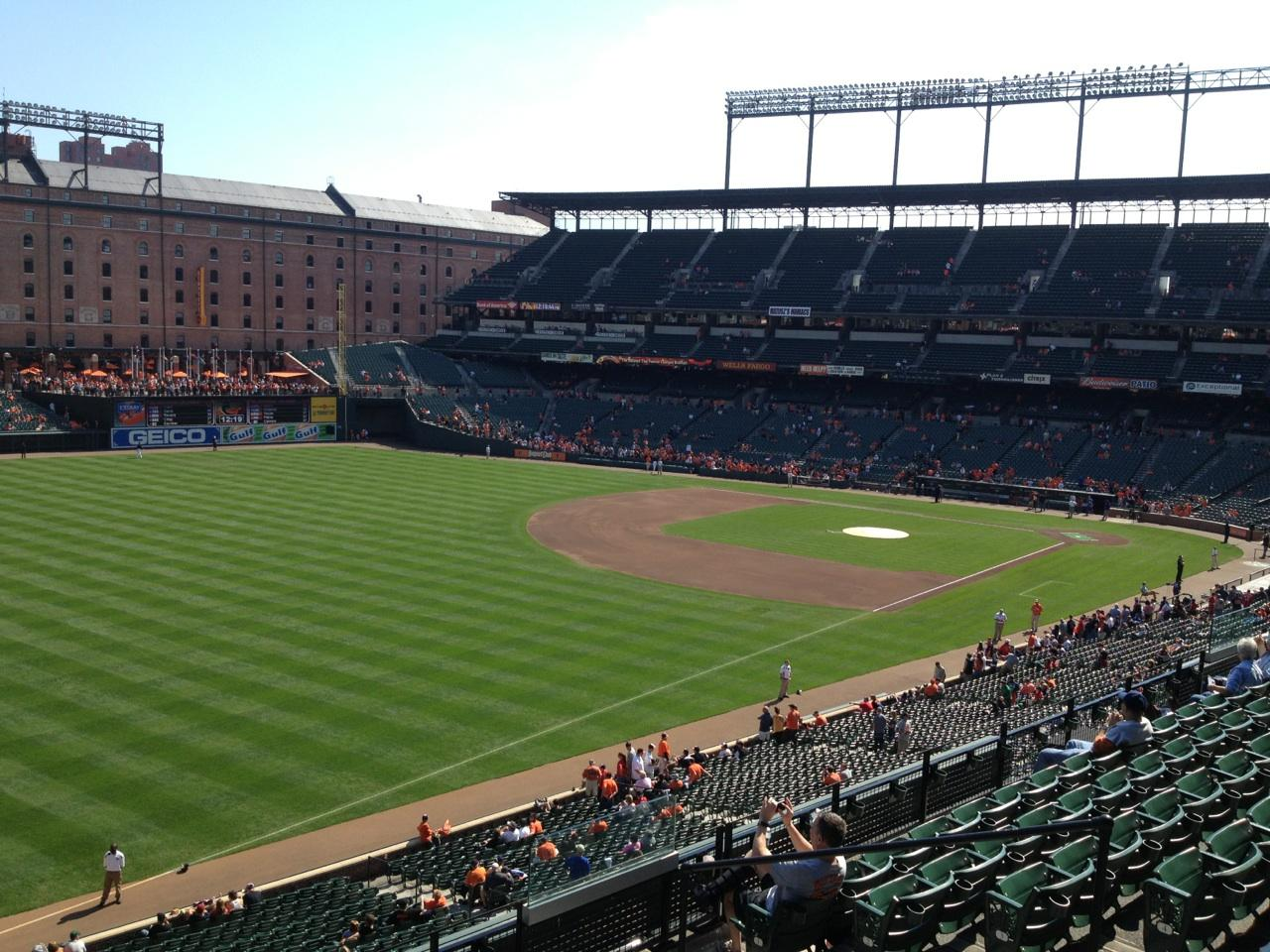 Oriole Park At Camden Yards Section 268 Row R Seat 6 Baltimore Orioles Vs Boston Red Sox