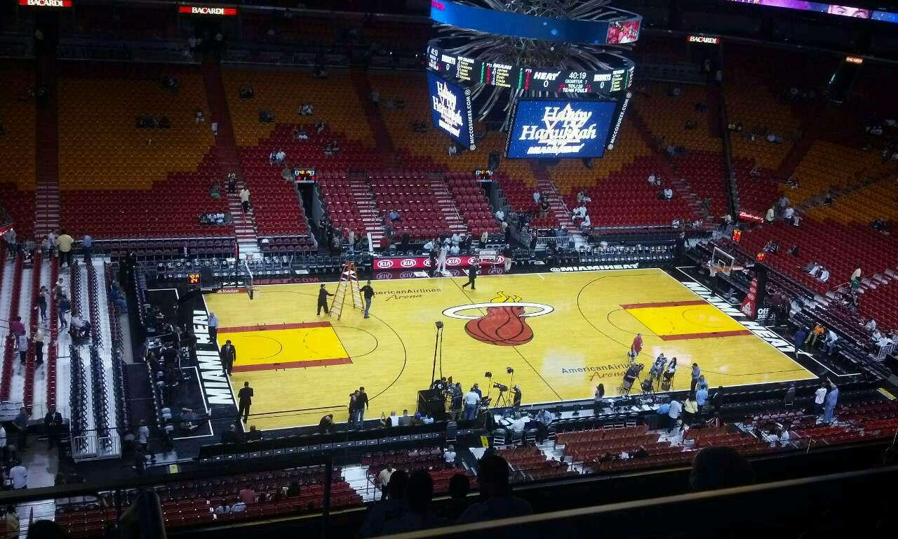 Americanairlines Arena Section 326 Miami Heat