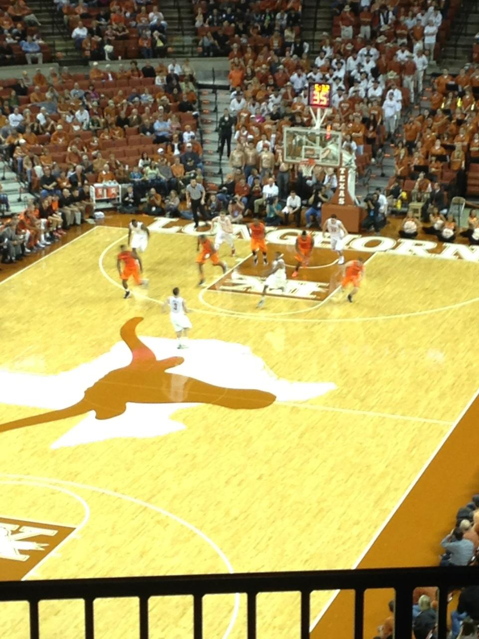 Frank Erwin Center Section 71 Row 6 Seat 2