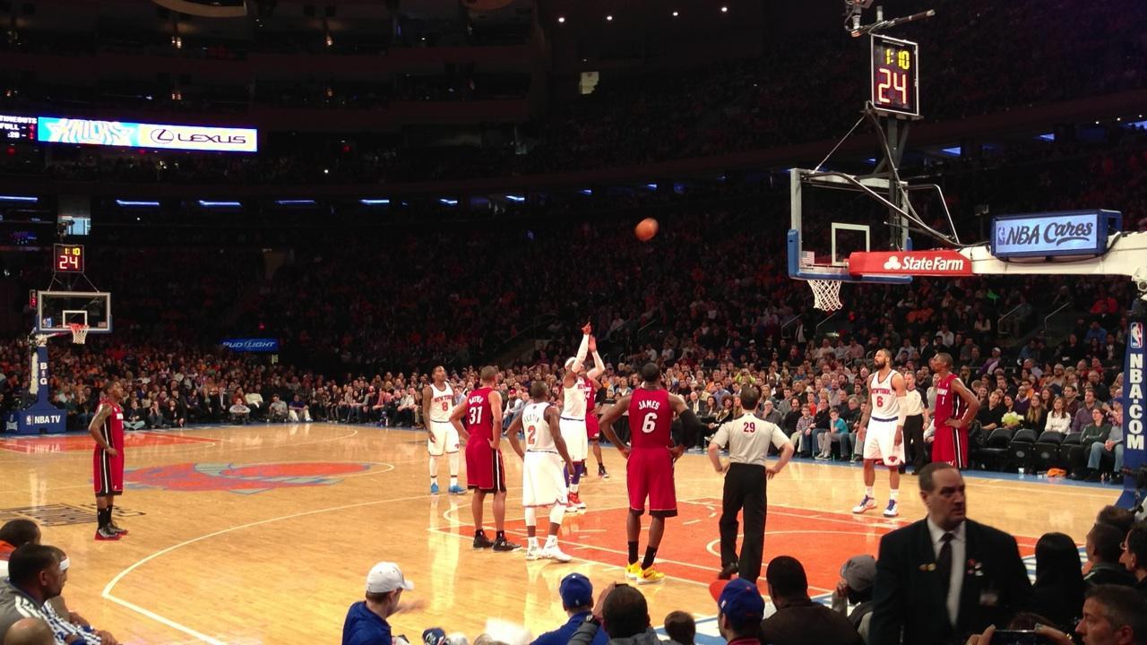 Madison Square Garden Section 7 Seat Views Seatscore Rateyourseats