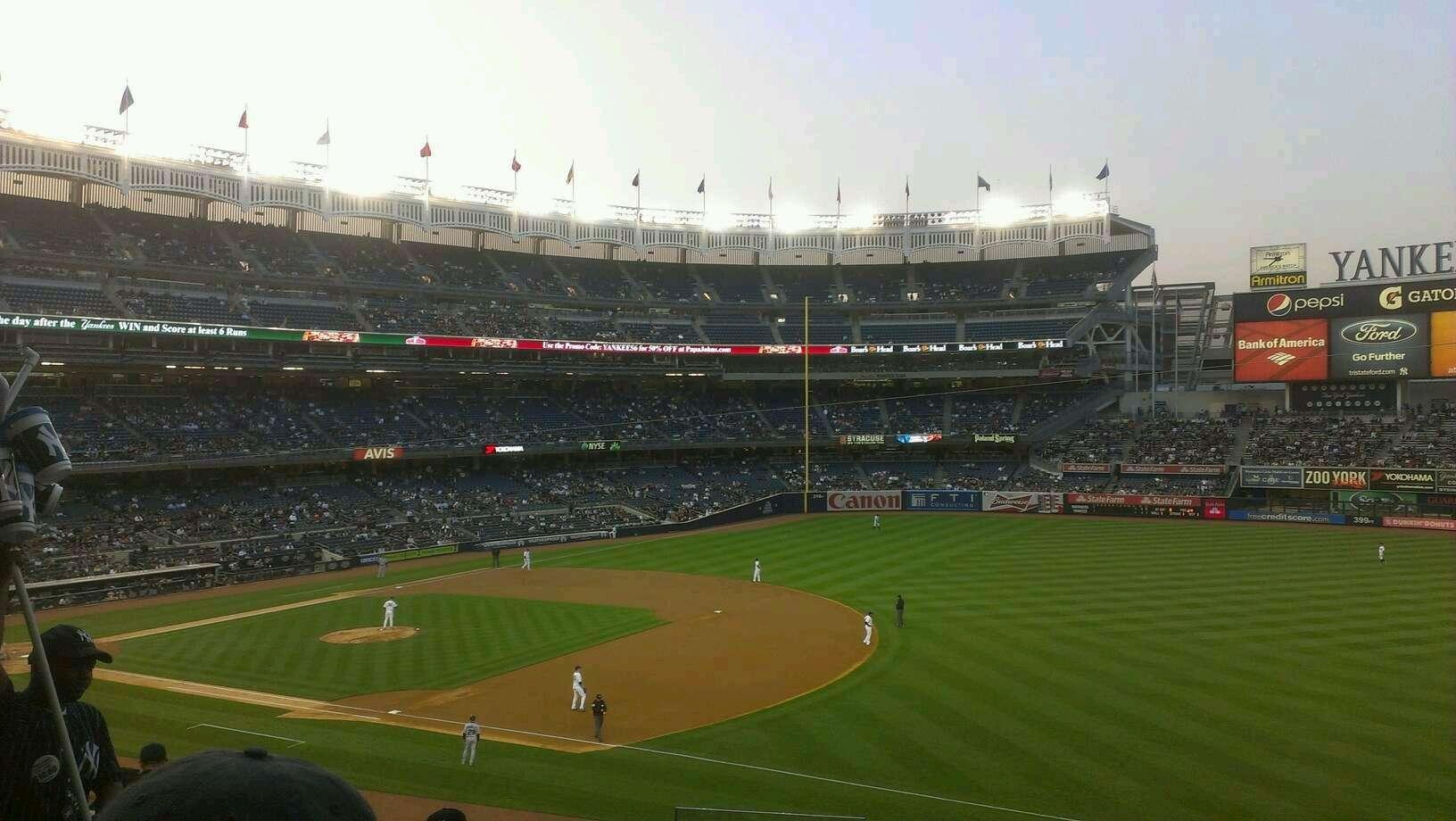 Yankee Stadium Section 212 - New York Yankees ...