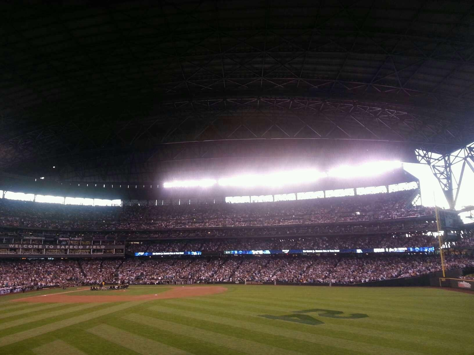Safeco Field section 105 row 37 seat 6 - Seattle Mariners ...