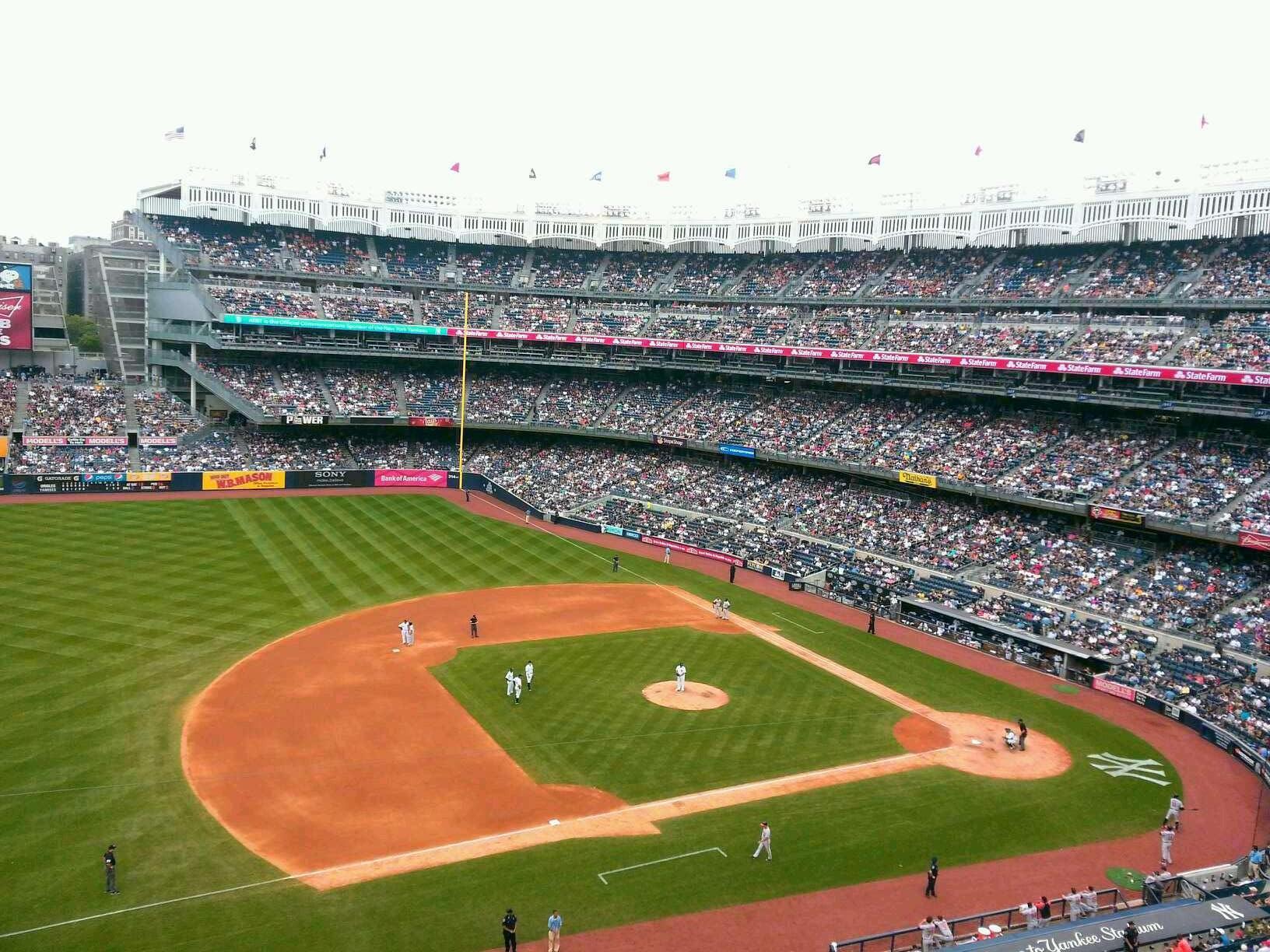 Yankee Stadium Section 326 New York Yankees