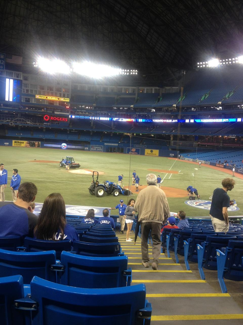 Rogers Centre Section 124 Toronto Blue Jays