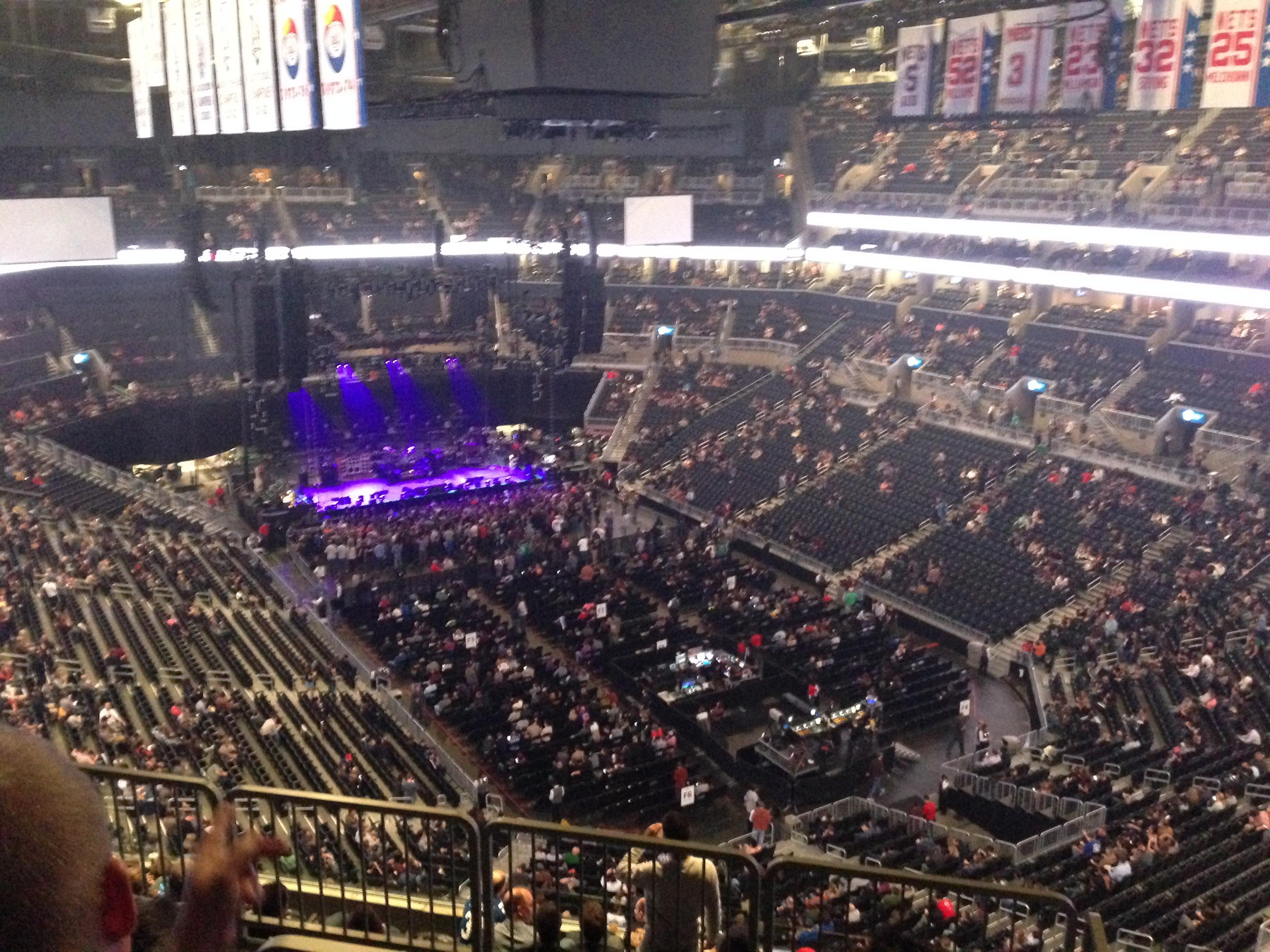 Concert Seat View for Prudential Center Section 101 Row 2