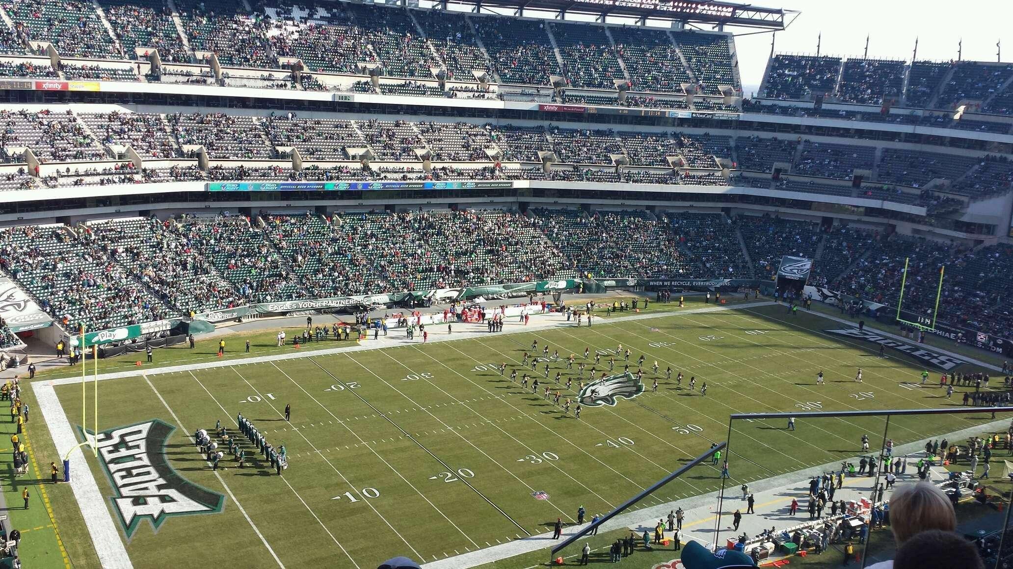 Philadelphia Eagles Lincoln Financial Field Section 240