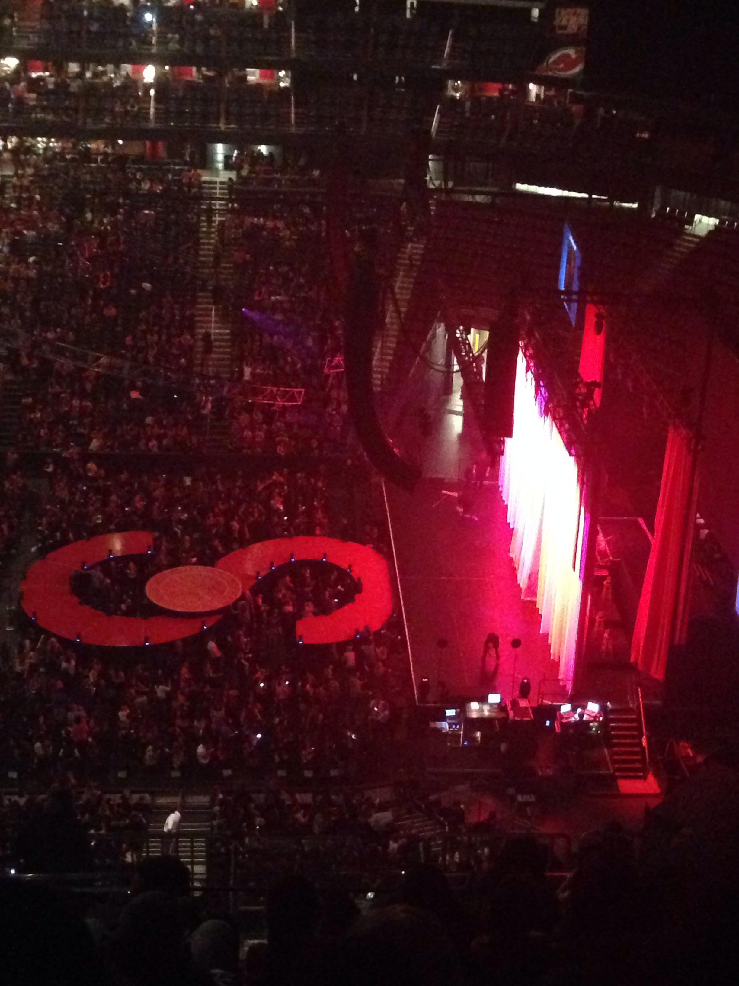 Prudential Center Section 214 Concert Seating